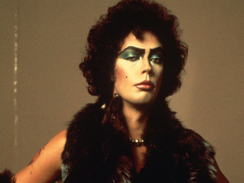 [Tim Curry as Dr. Frank, with absolutely flawless makeup] milfshaakeee:  it was great when it all began. i was a regular frankie fan.