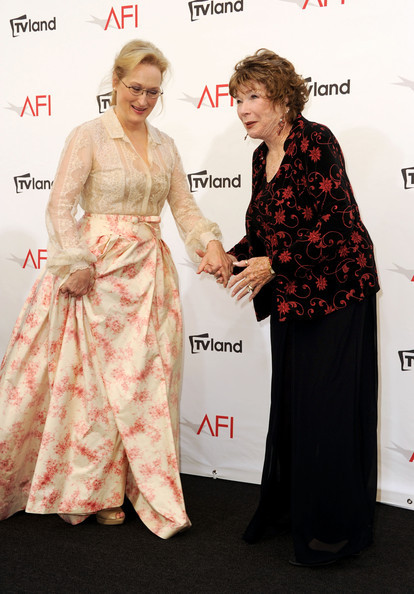(via Meryl Streep and Shirley MacLaine Photos - Zimbio)