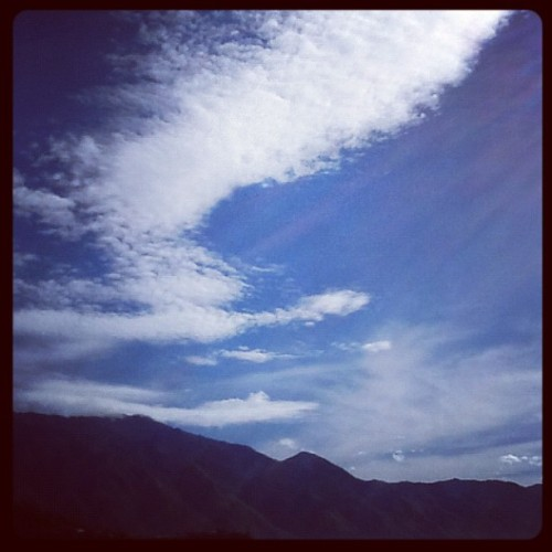 #caracas #ccs #sky #cielo (Taken with Instagram)