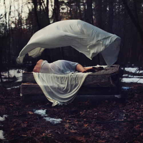 showslow:  Surreal self portraits by Sarah Ann Loreth. Previously (x)