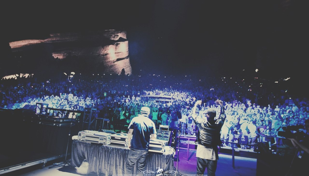 SuperVision x Jay Fresh at Red Rocks Amphitheater | Pretty Lights Music Showcase