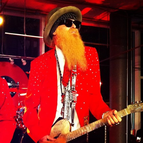 ZZ Top rocking the GQ x @Nordstrom #MensShop! @chryslerautos (via @longlivecool) (Taken with Instagram)