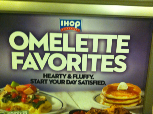 Ugh. IHOP. That kerning!