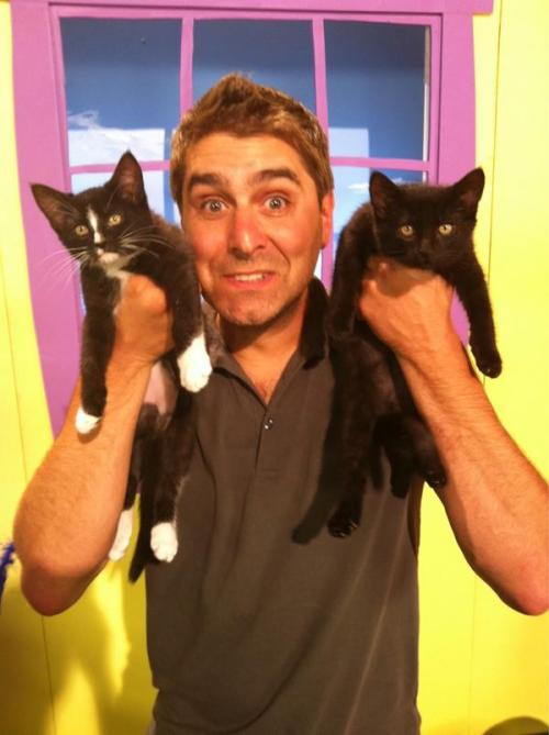 "fyeahtorybelleci:  ""No, we're not testing do cats have 9 lives or how many ways to skin at cat, or cat in the blender myth."" ~ Tory's Twitter"