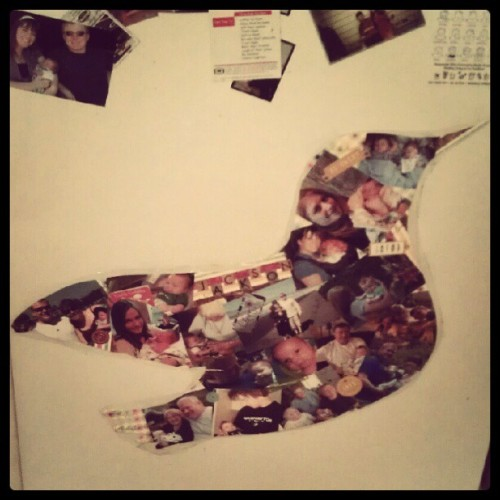 Boring fridge? Put a bird on it.  (Taken with Instagram)