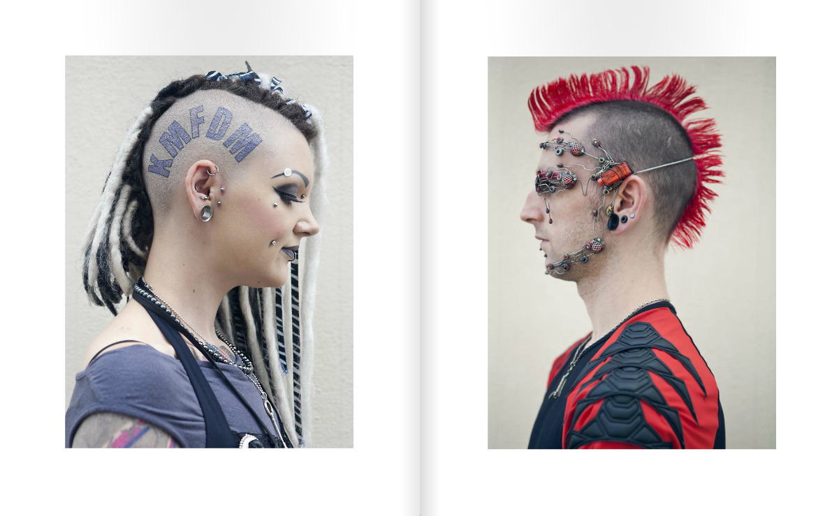 Cybergoths: Londons newest subculture by Jessica Lehrman.  Check the full series in the new issue of Relapse.
