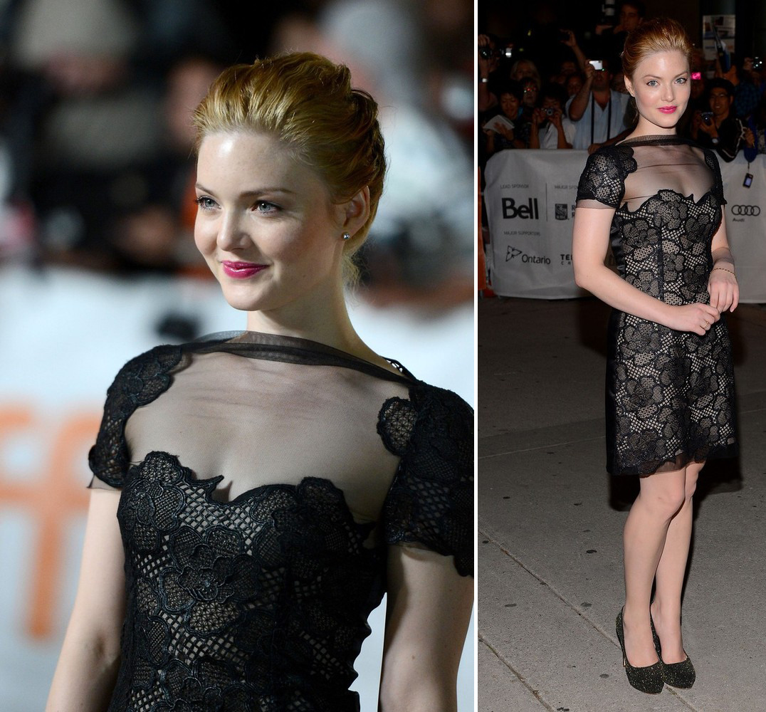 Holliday Grainger - Great Expectations premiere at the TIFF, September 11th 2012