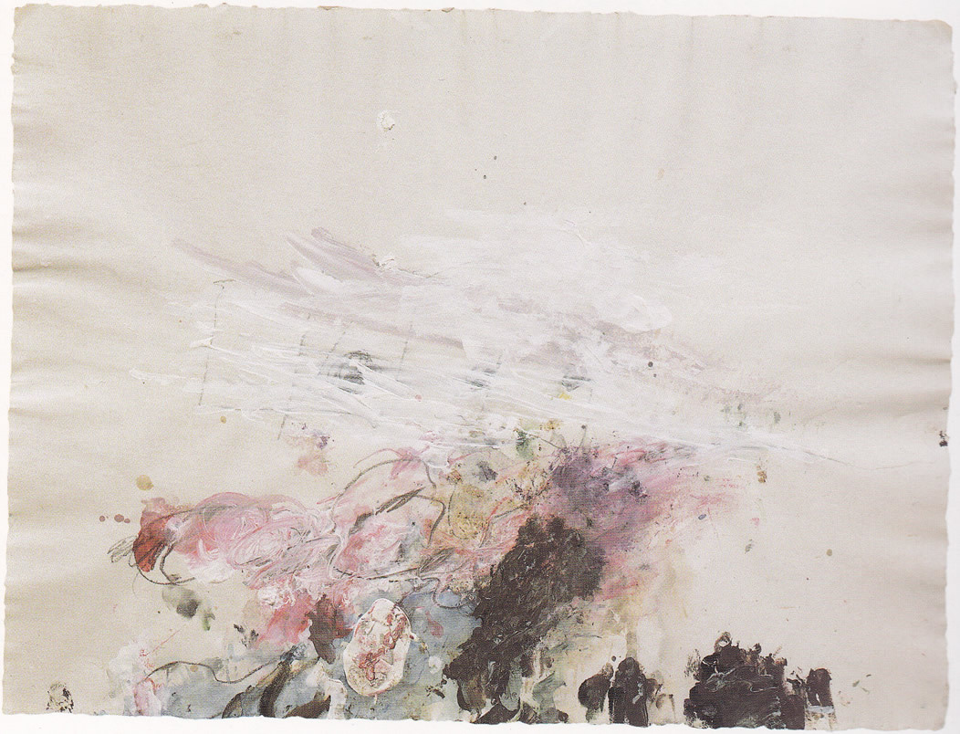 Lyrical Abstraction, Cy Twombly