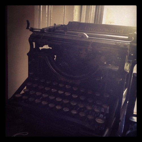 #oldschool #writing (Taken with Instagram)