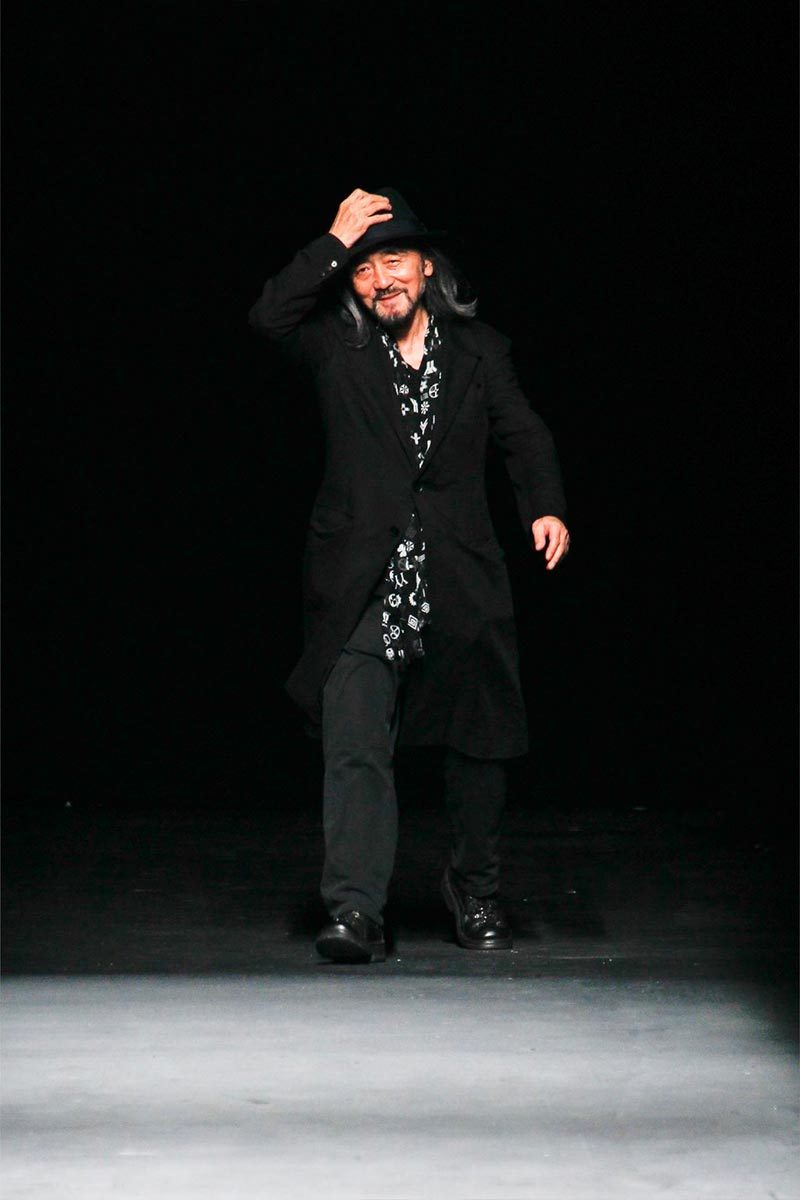 Yohji Yamamoto! One of the greatest Japanese designers of our time. Y-3, Yohji's line with Adidas has just been getting better and better every season.