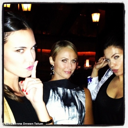 Fashion week faces @StacyKeibler @OdetteAnnable View more Jenna Dewan-Tatum on WhoSay