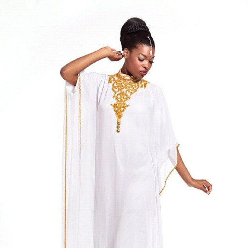 #yarayosif original Tassnim #kaftan #dress order online from YaraYosif.com, #photography by @gregwaldo #mua @lilyangelica #model @femmedelamode #caftan  (Taken with Instagram)