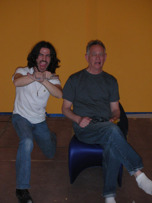 Frank Santoro and Gary Panter - this is from a couple years ago - feeling nostalgic