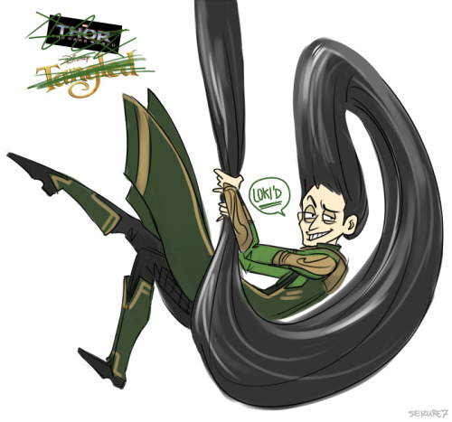 "seizure7:   ""Fare-thee-well, BITCHEEEEEEEEEEEEEEEES""   LOKI'S LONG RAVEN LOCKS"