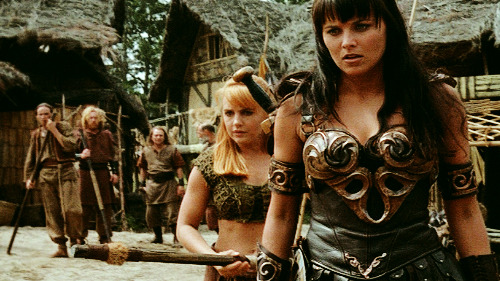 I can't wait to watch Xena and Ron Swanson get married someday.