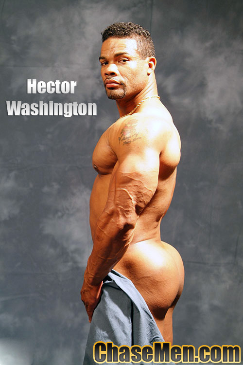 See the big ass on Hector Washington?