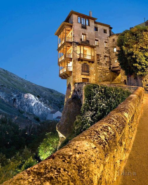 stinni:  Hanging Houses Of Cuenca, Spain