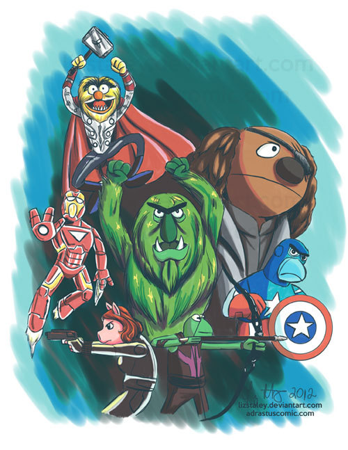 Muppet Avenges by Liz Staley