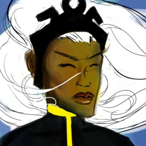 Another Storm Sketch by ~bmosley45