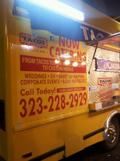 foreverstoked:  Best taco truck in the south bay  yesssss, i miss home. definitely tryna hit this up on saturday.