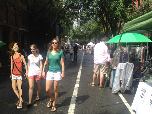 Wandering no. 1 @ East Village Street Fair