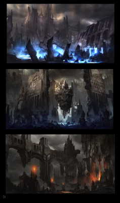 lj7stkok:  Enviro Sketches by *k04sk on deviantART
