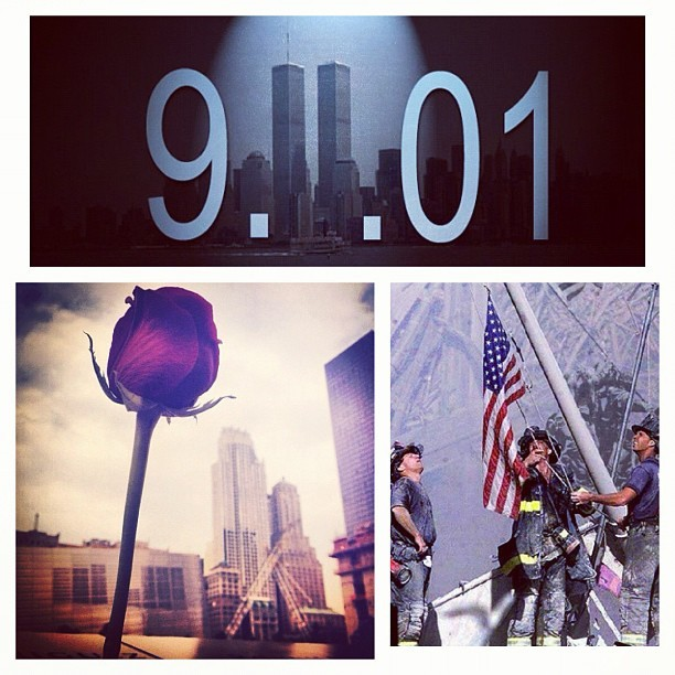 In remembrance of all the men & women you lost their lives this day just 11 yrs ago, you are never forgotten. & for all the people who were consequently affected by this tragedy. My thoughts & prayers are with their families 🙏🙏 #september11 #neverforget #worldtradecenter #pentagon #pennsylvannia #thesecolorsdontrun #alwaysremember911 👮🗽🇺🇸🇺🇸✌🇺🇸🇺🇸💗 (Taken with Instagram)
