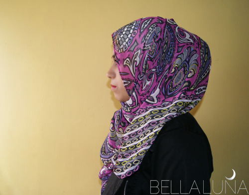 bellalunaabayas:  Paisley Party - Hot Pink