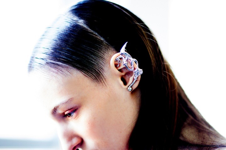 RODARTE Spring 2013 DRAGON EAR CUFF