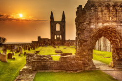 scotianostra:  Morning light at St. Andrews Cathedral