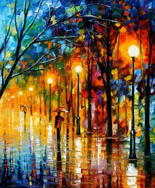 Welcome autumn Leonid Afremov