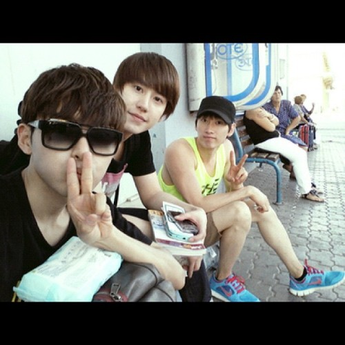 #ryeowook #kyuhyun #eunhyuk #superjunior  (Taken with Instagram at ◥SUJU、WoRLD◤ )
