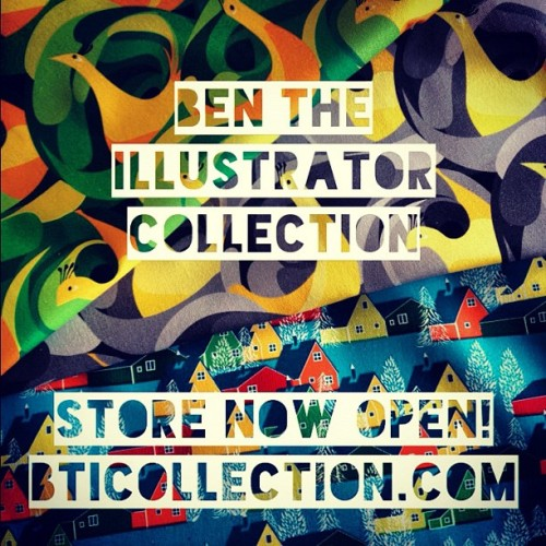 bentheillustrator:  Fabrics and fabric products that bring an exclamation mark to your home! http://www.BTICollection.com