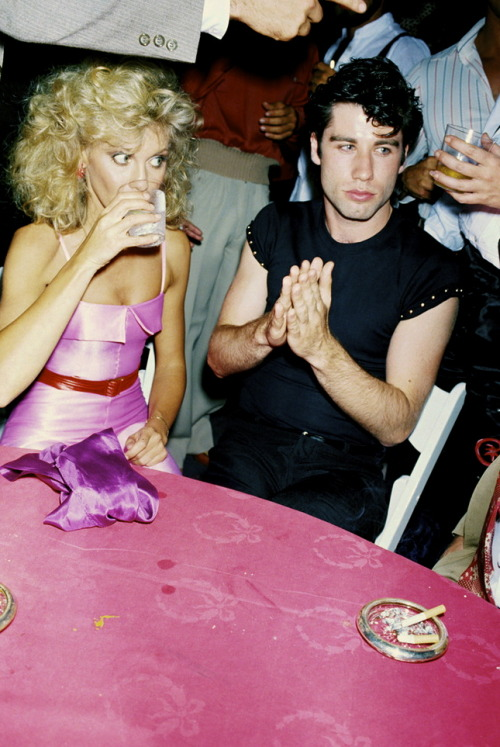 lynxolita:  Olivia Newton John and John Travolta photographed by Brad Elterman, 1978