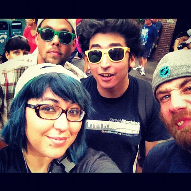 The crew #disneyland  (Taken with Instagram)
