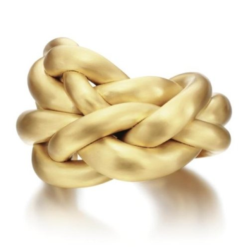 Gilded Cuff Bangle, Designed by Louise Bourgeois, 2008