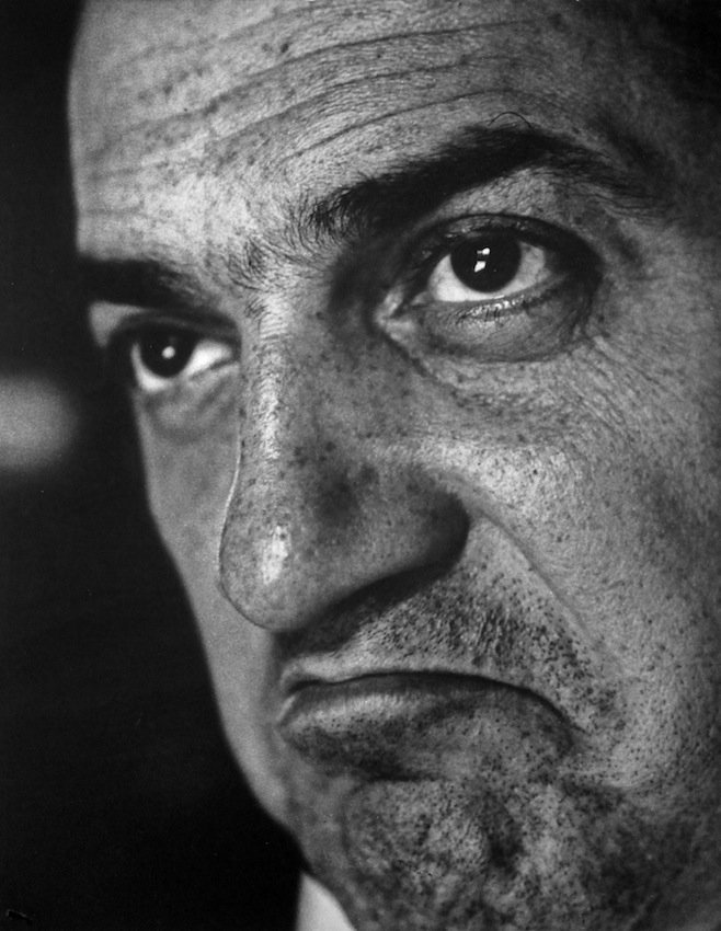 tornandfrayed:  Federico Fellini, 1958. Photo by Cornel Lucas.