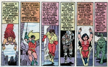 yellowcape:  - New Teen Titans 05 Strenghts and weaknesses