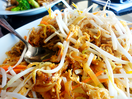 pad thai from jaded thai