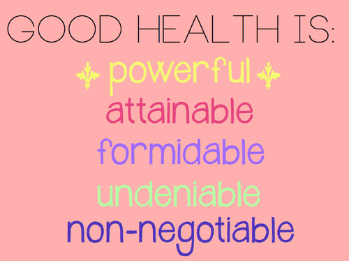 "albfit:  ""Good Health"""