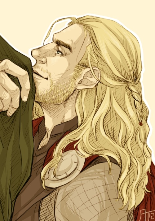 frikadeller:  his little braid aaaaaaaaaaaaaaaahhhhhhhhhhhh