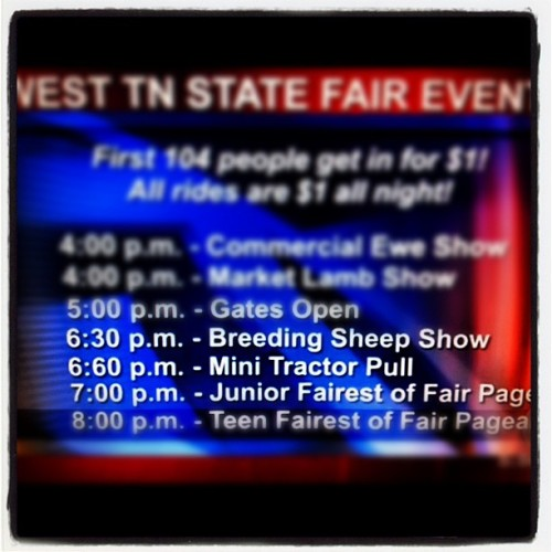So is the mini tractor pull at 7 then? #jacksontime (Taken with Instagram)