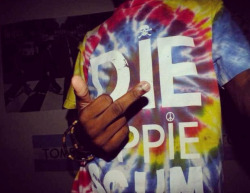 Die Hippie T-shirt available here.