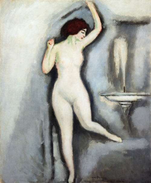 Kees Van Dongen - The Attractive Nude , 1909