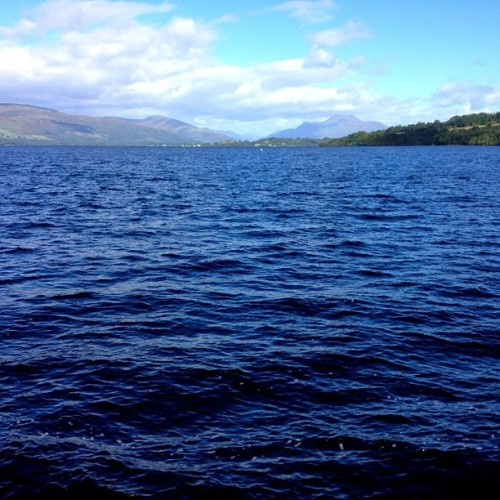 Loch Lomond #nofilter #scotland #travel (Taken with Instagram)