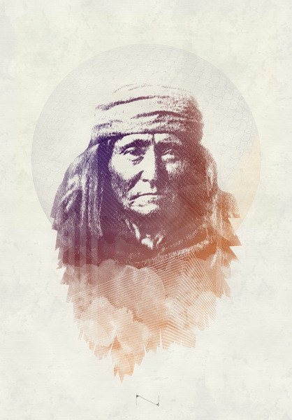 (via Indian Art Print by Mads Hindhede Svanegaard | Society6)