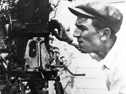 Walt behind the camera.