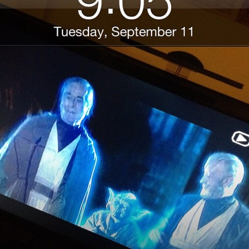 My wallpaper makes me so happy. #starwars  (Taken with Instagram)
