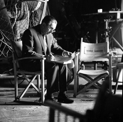 Walt looks over a script.