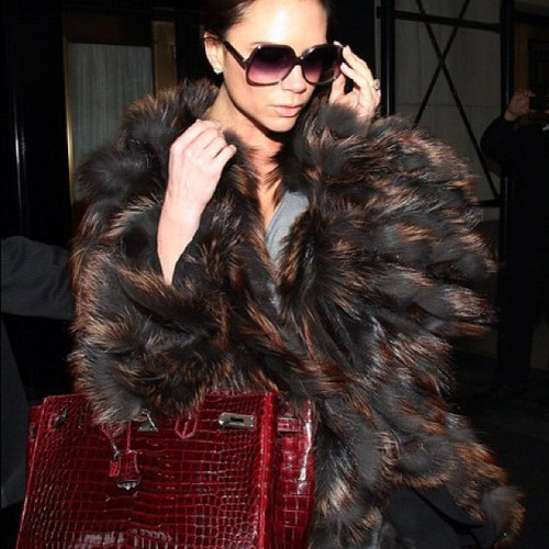 VB❤❤ #fashion #style #victoriabeckham #gorgeous #clothes #famous #celebrity  (Taken with Instagram)
